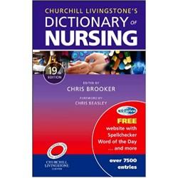 Churchill Livingstone's Dictionary of Nursing (19th International Edition)