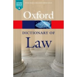 A Dictionary of Law  Eighth Edition