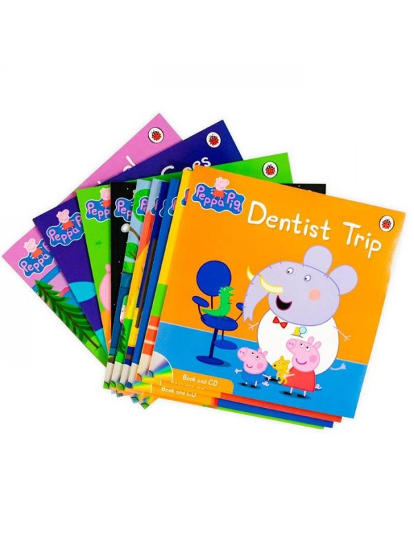 Peppa Pig - Paperback and CD Collection