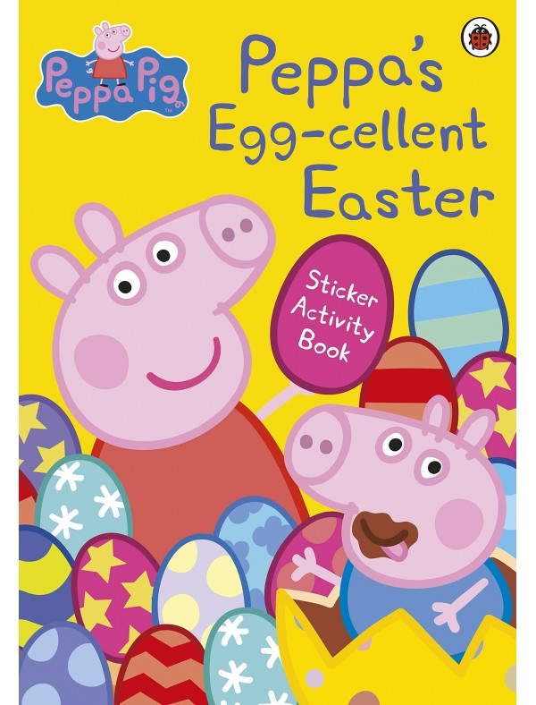 Peppa Pig - Peppa's Egg-cellent Easter Sticker Activity Book