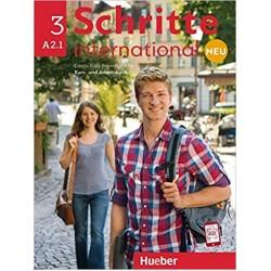 Schritte International NEU 3(A2.1) Kursbuch + Arbeitsbuch+CD zum Arbeitsbuch