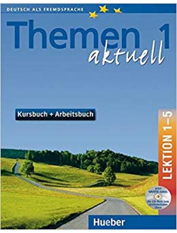 Themen Aktuell 1 Kursbuch+Arbeitsbuch+CD Lekt.1-5