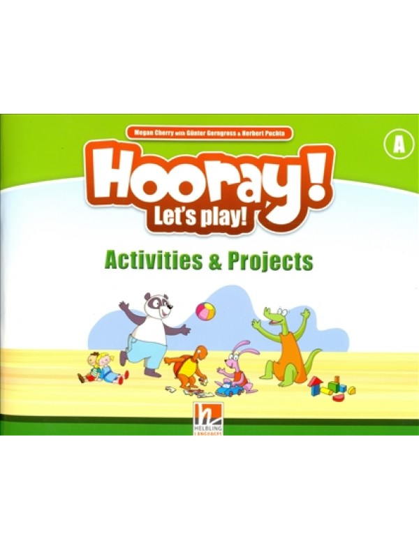 Hooray Let's play A Activity Book