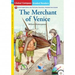 The Merchant of Venice with MP3 CD (Level A2.2)