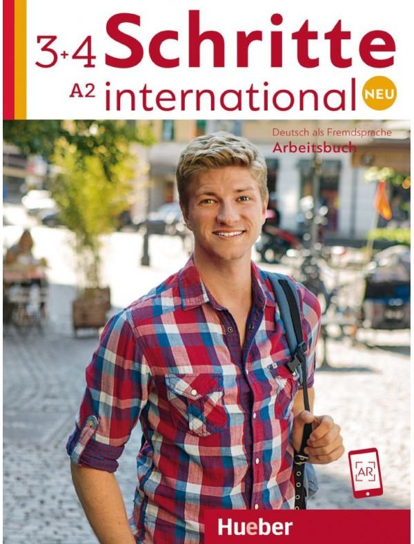 Schritte international Neu 3+4 Arbeitsbuch + 2 CDs zum Arbeitsbuch