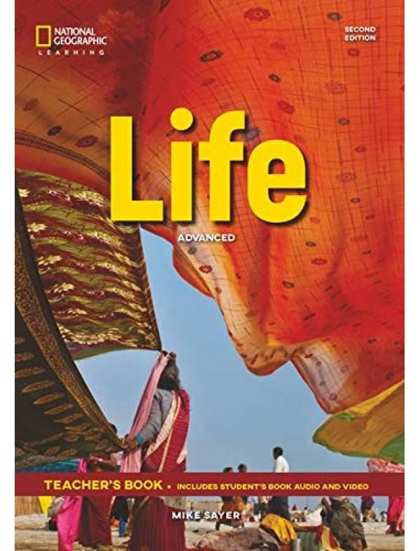 Life Advanced 2E Teacher's Book + Class Audio CD + DVD